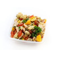 439. Chicken salad with peaches