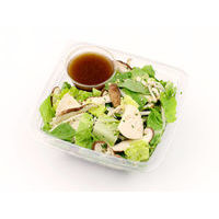 467. Romaine salad with Shiitake mushrooms