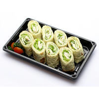 518. Lavash with chicken fillet and vegetables
