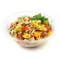 6024. Chicken salad with peach
