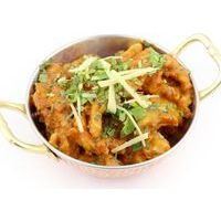 Pork with potatoes in Masala sauce
